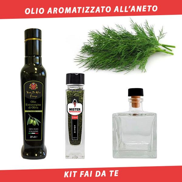 olio aromatizzato all'aneto