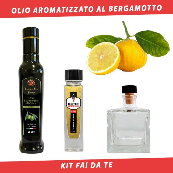 olio aromatizzato al bergamotto