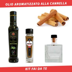 olio aromatizzato alla cannella