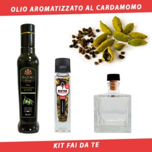 olio aromatizzato al cardamomo