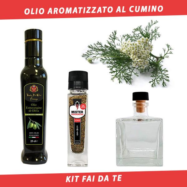 olio aromatizzato al cumino