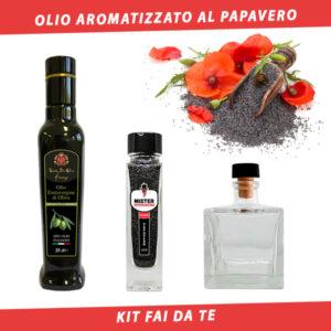 olio aromatizzato ai semi di papavero