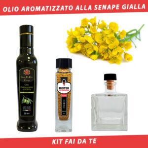 olio aromatizzato alla senape gialla