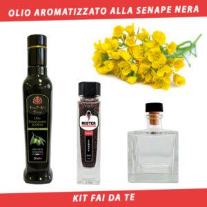 olio aromatizzato alla senape nera
