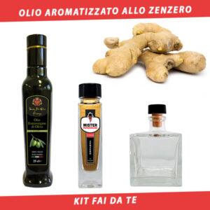 olio aromatizzato allo zenzero